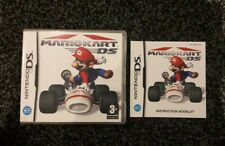 Mario Kart DS - Nintendo DS, 2005 - Box And Manual ONLY
