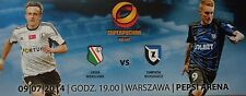 Tickethülle Supercup Polen 2014 Legia Warszawa - Zawisza Bydgoszcz