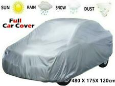 Waterproof New Large Car Protection Cover Rain Dust UV Silver/Grey