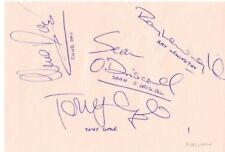 FULHAM & NOTTS COUNTY MULTI HAND SIGNED BY TEAM FROM AUTOGRAPH BOOK
