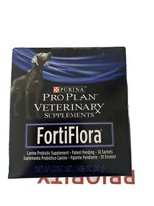 Purina Pro Plan Veterinary Diets Fortiflora Canine Dog Supplement 30 Sachets