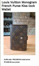 Louis Vuitton French Kisslock Wallet