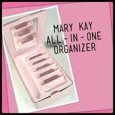 """NEW IN BOX! Mary Kay """"All-In One Organizer""""  #0770 Pink MIRRORED MAKE-UP STORAGE"""