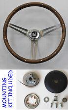 "1969-1993 Buick Skylark GS Walnut GRANT Wood Steering Wheel 15"" New"