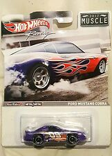 Hot Wheels Racing 2012 Muscle Ford Mustang Cobra #W8316 Scale 1:64