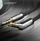 Ugreen aux cable jack 3.5mm male to male audio cable 90 degree right angle flat