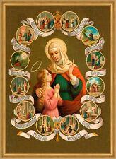 Heilige Anna Mutter Marias Schutzpatronin Witwen Arme hlg. St. LW Sankt A2 0097