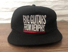 Vintage Big Guitars From Memphis Snapback Hat 1995 By Universal Headwear Rare