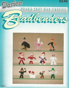 Beadbenders - Posable Bead Figurines Vintage Instruction Book