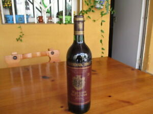 Wine Marques de Caceres Year 1982 / Wine Year 1982