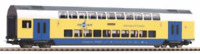 Piko 58809 HO Gauge Hobby Metronom 2nd Class Bi-Level Coach VI
