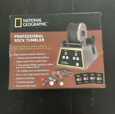 National Geographic Professional Rock Tumbler Brand New