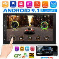 2 DIN 7 inch Android 9.1 Car Stereo MP5 Player GPS WiFi USB Bluetooth FM Radio
