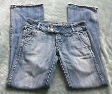 Refuge Jeans Size 3 Juniors Light Wash Distressed frayed