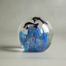 Britain 1950s/ 1960s/ 1970s Blue Glass Paperweights