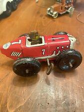Vintage Marx Windup Toy #7 Racer Race Car