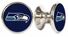 SEATTLE SEAHAWKS NFL DRAWER PULLS / CABINET KNOBS