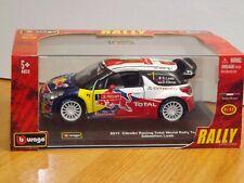 1/32  BURAGO RALLY CAR - CITROEN RACING TOTAL WORLD RALLY TEAM 2011