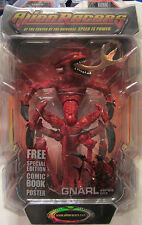 Alien Racers GNARL Action Figure Series One w/Comic Book & Poster NEW