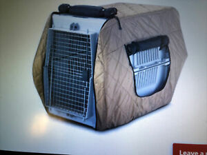 Large INSULATED KENNEL JACKET COVER Cage Crate Keep HUNTING DOG Warm ~EXCELLENT