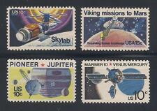1970's U.S. SPACE ACCOMPLISHMENTS - SET OF 4 POSTAGE STAMPS - MINT CONDITION