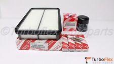 Toyota Corolla 2000-2002 Air Filter Oil Filter Spark Plug Kit Genuine OEM