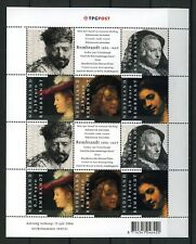 Nederland 2006 2429-2433 Vel Rembrandt 400 jaar - joint issue