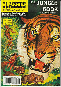"Prestige Classics Illustrated #8 ""Rudyard Kipling - The Jungle Book"" 2009"