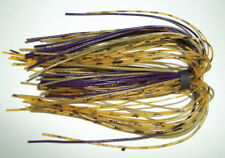 """5 Starflash Custom Silicone Spinnerbait Skirts(Candy Rootbeer)Bass Fishing-""""NEW"""""""