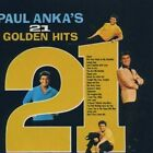 PAUL ANKA / 21 GOLDEN HITS * NEW & SEALED CD * NEU *