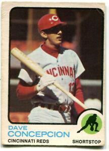 1973 OPC Dave Concepcion Card #554 Cincinnati Reds