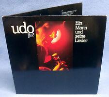 LP UDO JÜRGENS - EIN MANN UND SEINE LIEDER // ARIOLA GERMANY 2-LP