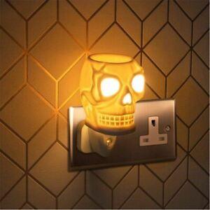 Desire Plug-In Skull Design Night Light Wax Melt Oil Burner Electric Aroma