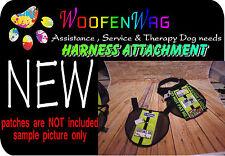 Service Dog - Assistance Dog - Harness Vest extention GREEN