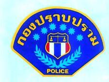 AUFKLEBER Sticker Thailand Polizei TBI Bundespolizei FBI v. innen kleben12,5x8cm
