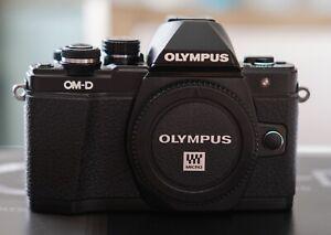 Olympus OM-D E-M10 Mark II Black Body Only