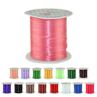 10M Strong Stretch Elastic Cord Wire rope Bracelet Necklace String Bead 0.5mm HG