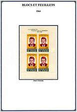 1964 - 1999  AFRIQUE  SENEGAL  BLOCS ET  FEUILLETS   NEUFS ** MNH  Y&T n° 1 - 70