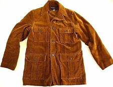 VINTAGE TOWNCRAFT PENNEYS coat jacket mens M brown WORK WEAR chore field farm