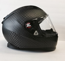 Speed and Strength SS4000 Carbon Fiber Motorcycle Helmet Solid Speed XL