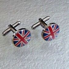 Jack United Kingdom Uk Flag Cufflinks Mens Cuff Links New Union