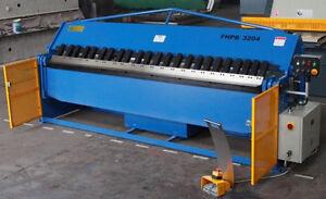 New CARTER Hydraulic Box and Pan Sheet Metal Folder 3200x2mm