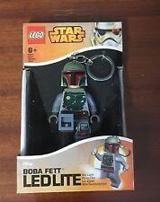 Lego Star Wars Boba Fett Key Light 5004752, Nuevo