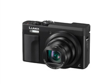 Panasonic Lumix DMC-TZ90 Digital Compact Camera With Viewfinder: Black