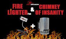 Bbq Dragon Fan & Chimney Bundle