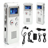Rechargeable 8GB Digital Audio/Sound/Voice Recorder Dictaphone MP3 Player RT