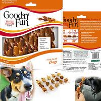 DOG TREATS TRIPLE FLAVOR KABOBS Healthy Gourmet Chicken Duck Snack 36 pcs Chews
