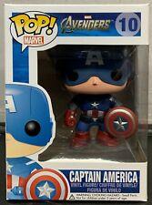 Funko Pop! Marvel Captain America # 10 Vaulted - Avengers Extra Fine C/W Protect