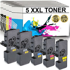 5x Toner XXL für Kyocera TK5230 P5021cdn M5521cdn M5521cdw P5021cdw ECOSYS