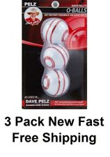 Dave Pelz Putting Teaching O Balls 3 Pack Brand New In Package Free Fast Ship